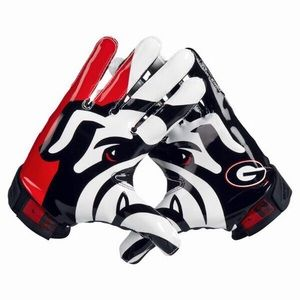 New with Tags Nike Vapor Georgia Bull Dog Gloves